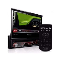 Dvd Automotivo Pioneer Avh-3880Dvd Com Tela 7'' Retratil Usb