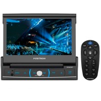 Dvd Player Pósitron Sp6320Bt 7 Polegadas Tela Retratil 1 Din Bluetooth Usb Sd Aux