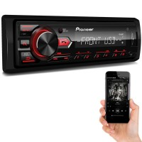 Radio Mp3 Pioneer Mvh-298Bt Bluetooth Usb Mixtrax Arc