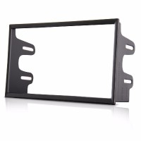 Moldura Painel Som 2 Din Vw Golf Polo Bora Fox Fiesta Cabrio