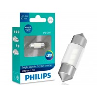 Lâmpada Philips Torpedo Led Ultinon 6000K 30Mm Super Branca