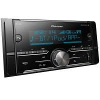 Mp3 Pioneer Mvh-S618Bt 2Din Bluetooth Iphone Android Usb Aux