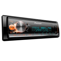 Mp3 Pioneer Mvh-X700Br Bluetooth Iphone Android Usb Aux Mixtrax