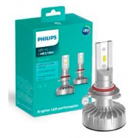 Kit Lâmpada Led Philips Ultinon Led Hb3 Hb4 Luxeon +160% Luz
