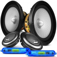 "Kit 2 Vias Bravox 70W RMS 6"" CS60-D"
