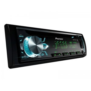 CD Player Pioneer DEH-X5BR com Flashing Light, Bluetooth, USB frontal, Mixtrax e ARC