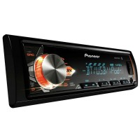 MP3 Player Pioneer MVH-X3BR Flashing Light Bluetooth USB frontal Mixtrax e ARC
