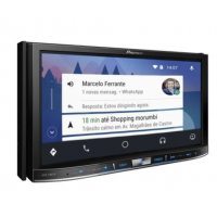 Central Multimídia AVIC-F80TV Pioneer Tela 7'' Andorid Auto, CarPlay, USB, Bluetooth, GPS e TV
