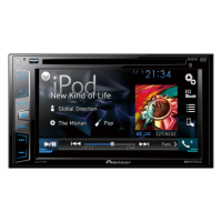 DVD Player AVH-X2780BT Pioneer Tela 6.2'' USB Traseiro e Bluetooth